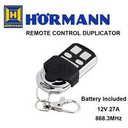 50pcs Hormann HSM code fixe 868.3MHz Bleu bouton duplicateur de contrôle automatique de porte radio, ne fonctionne pas avec Hormann version BS émetteur ? partir de fabricateur