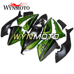 motocicleta verde mate Rebajas Motos ABS Plásticos Inyección Carenados Completos Para Yamaha T-MAX XP530 2012 2013 2014 Carenado Kit Kits Corporales Brillante Verde Mate Negro Carenados