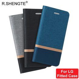 Nexus bolsas online-MOQ 1 UNIDS Caso de Filp de cuero de lujo para LG G5 G6 V20 V30 Plus LG Nexus 5X 6P Soporte de la cartera del teléfono de la cubierta del bolso