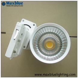 Wholesale Free Shopping Malls - 30W COB LED Track lighting as shopping mall  clothing store lighting lamp free shipping