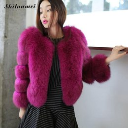 Wholesale Hot Pink Faux Fur Coat - 2017 Hot Faux Fur Jacket Coat Bomber Jacket for Women Fashion Winter Warm Manteau Femme Casual Fur Outerwear cortaviento mujer