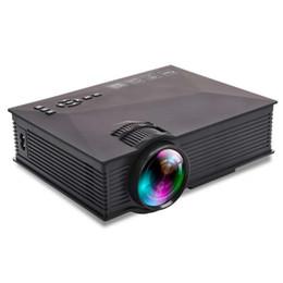 mini projetor laptop portátil Desconto UC46 UC46 + 1200 Lumens LED Projetor Portátil Mini Projetor LCD Wi-fi Home Cinema Theater Suporte 1080 P para TV Laptop iPhone Andriod telefone