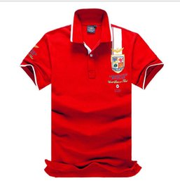 свободные флаги для вышивания Скидка Лето вышивка Спорт Поло рубашка США американский флаг бренд Polos мужчины с коротким рукавом Спорт Поло Tee человек пальто падение Бесплатная доставка
