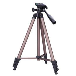 llevar trípode Rebajas WT3130 Cámara Trípode Protable de aluminio ligero w / Rocker Arm Carry Bag para Canon Nikon Sony DSLR Cámara DV Videocámara