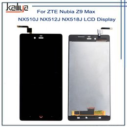 ZTE Nubia Z9 Max NX510J NX512J NX518J için LCD Ekran + 5.5 Inç Siyah Dokunmatik Ekran Digitizer Meclisi Repairparts Için ZTE Z9 MAX cheap zte nubia max nereden zte nubia max tedarikçiler