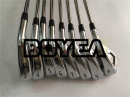 Wholesale brands golf clubs - Brand New A3 718 Iron Set 718 A3 Golf Forged Irons BOYEA Golf Clubs 3-9P Steel Shaft With Head Cover