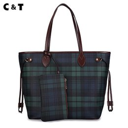 Wholesale free flower designs - C&T brand new design of the classic handbag High-quality Coated canvas single shoulder bag fashion Mother bags Free Delivery