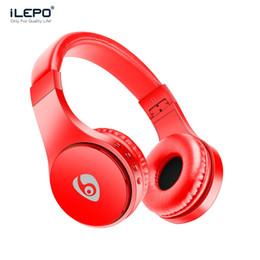 Argentina S55 S99 Auriculares inalámbricos Auriculares Bluetooth para juegos con micrófono Diadema ajustable Auriculares Soporte Tarjeta TF Caja de venta al por menor Mejor Marshall cheap adjustable headset Suministro