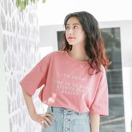 4b01828fc Dropshipping Mulheres O-pescoço Manga Curta T Shirt Womens 2018 Verão Nova  Marca de Moda Roupas de Camisas de Hip Hop Feminino Tops Tumblr