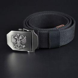 Wholesale Boys Leather Jeans - 2017 High Qulity Military Equipment Cinturon Canvas Belt Russia Tactical Belts Casual Strap Jeans Belt Gift For Men Boy