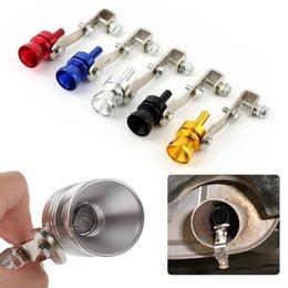 Tubo para silenciador online-Car Turbo Whistle Sound Tubo de escape Muffler Pipe Simulator Sound Tip Simulador de sonido silbido FFA214 5 colores