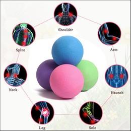 Haut Pflege Werkzeuge Fußpflege-utensil Körper Massage Ball Fitness Massage Kugeln Entspannen Entlasten Müdigkeit Rehabilitation Gym Training Massage Lacrosse Ball Fuß Pflege Werkzeug
