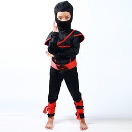 Wholesale Ninja Party - Boys and Girls Clothes Sets Cosplay Costumes Children Clothing Set Halloween Christmas Party Clothes Ninja Suits