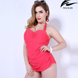 6b99eebc7bf solid swim suit one pieces plus size fat swimwear swimsuit large size for women  bathing wear beachwear discount fat women bathing suits