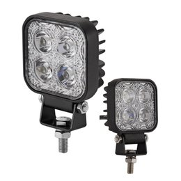 mini luce di inondazione Sconti 2Pcs Mini 6 pollici 12W Car LED lavoro Light Bar Driving Light come Worklight Flood / Spot 4x3W per canottaggio Caccia Pesca Offroad