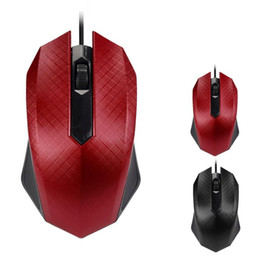 Wholesale Pc Servicing - Portable Unique Ergonomic Design 1200DPI USB Wired Optical Gaming Mice Mouse For PC Laptop,Long service life Mouse with wire