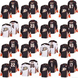 Wholesale Hockey Jerseys 22 - 2018 Anaheim Ducks Hockey Jerseys 4 Cam Fowler 21 Chris Wagner 22 Dennis Rasmussen 23 Francois Beauchemin 36 John Gibson 51 Mike Liambas