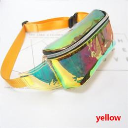 Femmes PVC couleur de gelée clair Fanny taille sac poitrine pack scintillement festival hologramme sac de plage 10 pouces ? partir de fabricateur