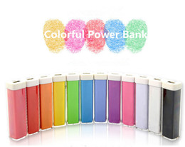 Wholesale Galaxy Note2 Charger - 2600mAh Power Bank Charger Lipstick Portable Emergency External Battery Charger for Samsung Galaxy i9300 Note2 N7100 iphone 5 5S 5C 4 4G