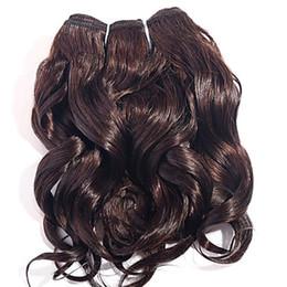 Cabello humano teje marcas online-Compre la marca New Dark Brown Body Wave Extensiones de cabello virgen de onda 100% Extensioin de cabello humano 6a Sin procesar Remy Hair Weave