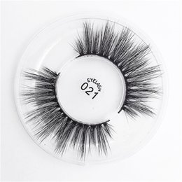Wholesale silk mink eyelashes - 2018 New 23 Styles Selectable 3D Faux Mink Eyelashes OEM custom private Logo Acceptable 3D Silk Protein Lashes 100% Eye Lashes