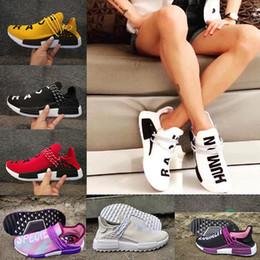 Wholesale Medium Jersey - NMD HUMAN RACE Pharrell Williams x Hu NMD_Tr Men's & Women Sports Running Shoes Men Sneaker,fashion Casual Canvas boost ,not sell Jerseys