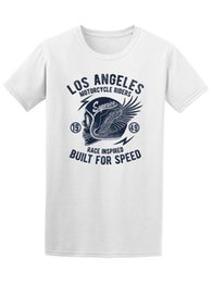 Wholesale motorcycles images - Los Angeles Motorcycle Riders Men's Tee -Image by Shutterstock