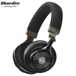 bluedio bluetooth earbuds Coupons - Bluedio T3 T3 PLUS turbine headphones wireless earbuds 50 cent bluetooth headset Portable Wireless Bluetooth Headset wireless mini bluetooth