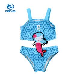 Девушки купальный костюм бикини онлайн-Kids Baby Girls Bodysuits Summer Clothes Mermaid Swimwear Swimsuit Bathing Suit Beachwear Bikini