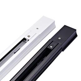 mini rivelatori di topi Sconti Rotaie del riflettore della luce della pista della ferrovia di 2 luci LED di alluminio spessa della pista della ferrovia della pista di alluminio di 1M LED Liberi la nave