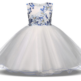 Wholesale Children Dance Images - Flower children wedding s lace dance dress Pengpeng dress flower
