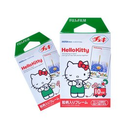 Wholesale Fuji Instax Mini 7s - 20films Instax hellokitty Film for Fuji Mini 7s 8 9 25 50 90 Camera