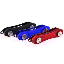 Porta-chaves de dobramento do anel do organizador de alumínio compacto do suporte chave com de Fornecedores de carros do besouro volkswagen