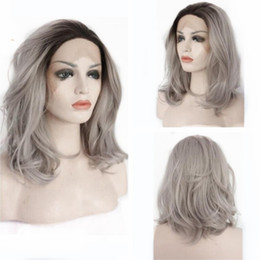 Discount Grey Ombre Short Hair Ombre Hair Grey Black Short 2019 On