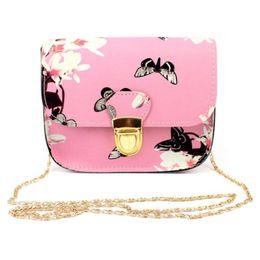 Schmetterling designer taschen online-Designermarke Umhängetaschen Frauen Butterfly Flower Lederhandtaschen Schultern Frau Messenger Bag Geldbörsen und Handtaschen