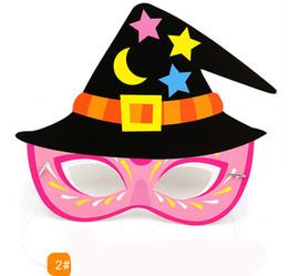 Canada Halloween feutre masque oeil bande dessinée animal bébé mode jouets drôles Europe et Amérique jouet fête supplier felt baby toys Offre