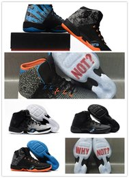 Wholesale Russell Westbrook Shoes - 2018 Wholesale New Air Retro 30.5 Why Not Westbrook PE 31 XXXI okc mvp Russell men basketball shoes sports sneakers size 7-12