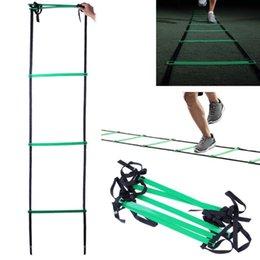 échelle de gilité réglable 5 barreaux 10 pieds sangle en nylon échelle échelle agilité pour football vitesse foot fitness formation foot en plein air équi ... ? partir de fabricateur