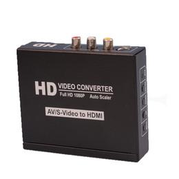 CVBS + s-video + R / L ses HDMI sinyal dönüştürücü nereden