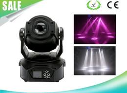 rueda de gobo Rebajas LED 90W Cabeza móvil Punto Spot Luz Gobo y color Rueda Enfoque electrónico Prisma de 3 facetas Efecto arco iris Luz Certificado CE LLFA