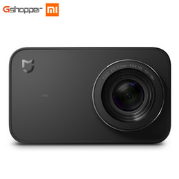 небольшой встряхнуть Скидка Оригинал Xiaomi Mijia Мини-камера Smart Small Cam Bluetooth 4.1 4K 30FPS 6 оси электронные анти-трясти 145 градусов широкий угол