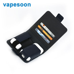 Wholesale Cigarettes Box Cover - Vapesoon Leather Storage Bag Anti Scratch Cover for IQOS Box MOD E Cigarette Protector Carrying Pouch Bag