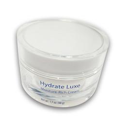 Hydratant riche en Ligne-Hot Selling Luxe Moisture Rich Cream 1.7 oz de soin de la peau hydratant pour le visage de haute qualité 48g scellé dans une crème de jour