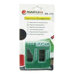 Strumenti bk online-10 Pz / lotto BK-210 Magnetizzatore / smagnetizzatore Big Size Magnetizzatore Smagnetizzatore Magnetico Pick Up Tool Cacciavite Punte A Vite Bit