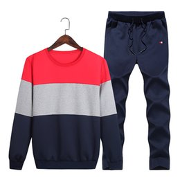 Wholesale Yellow Sweat Suits - 2018 New Brand Designer Tracksuit Hoodie Higt Quality Mens Clothing Sweatshirt Pullover Casual Tennis Sport Tracksuits Sweat Suits