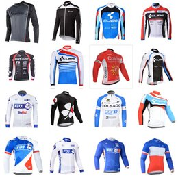 Wholesale Cube Long Sleeve Cycling Top - COFIDIS COLNAGO CUBE FDJ team Cycling Long sleeve Jersey Long Sleeve spring Men Road Bicycle Wear High Quality tops C3121