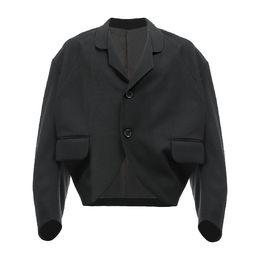 Canada M-6XL! Vêtements pour grands chantiers 2018 Nouveau blouson ample pour homme design tailleur court cocon supplier tailoring clothing Offre