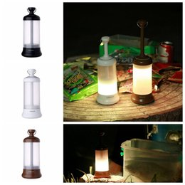 Wholesale Emergency Lamp Rechargeable - Outdoor LED USB Camping Light Lantern Rechargeable Portable Car Travel Emergency Emergency Night Light Lamp 30pcs OOA4814
