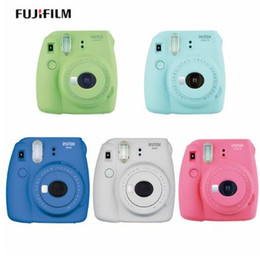 Wholesale Films For Instax Mini - Fujifilm Instax Mini 9 Instant Printing Digital Camera With 20 Sheets Fuji Film Photo Paper for Mini 8 7s 25 50s 90