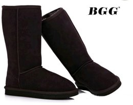 girls 13 boot UK - Free shipping2018 Quality WG Women Classicl Boots Women girl Snow Winter boots leather shoes US SIZE 5--13.